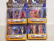 Marvel Guardians of The Galaxy Lot of 4  with Figure Battle Gear Hasbro