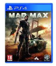 Mad Max Videogame For Sony PS4 Games Console New Sealed Uk