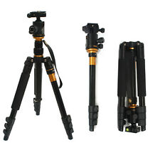 Professional Camera Tripod Monopod 360° Swivel Ball Head For Canon Nikon DSLR