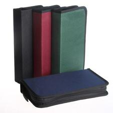NEW Protable CD VCD DVD 80 Discs Storage Holder Cover Carry Case Bag Orananizer