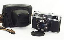 SOKOL-2 Russian 35mm camera Lomo Rare w/ case lens Industar-70 Good Soviet 1980s