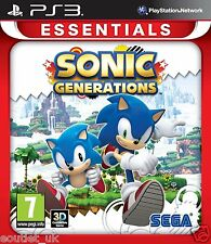 Sonic Generations Game For Sony Playstation 3 PS3 NEW & SEALED