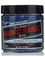 Manic Panic Blue Steel Classic Hair Dye Punk Gothic Grey Pastel Fashion Colour