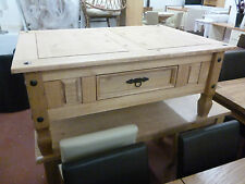 Coffee Table with Drawer Solid Light Pine Aruba