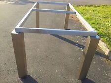 Tischgestell Untergestell Gestell Tisch ohne Tischplatte Edelstahl auch nach Maß