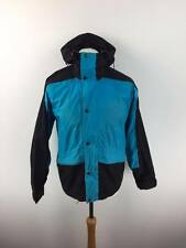 VINTAGE THE NORTH FACE USA Mens Gore Tex Jacket Coat Small S Blue Black