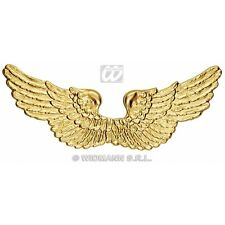 Angel Wings Gold Plastic for Holy Church Christmas Fancy Dress