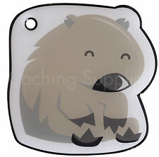Wendy the GeoTrack Wombat - Trackable for Geocaching