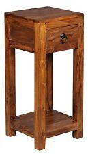 Wohnling Sheesham Massivholz WL1.313 Beistelltisch Telefontisch 30 x 30 x 65 cm