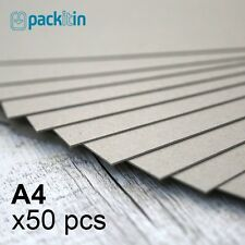 A4 Backing Boards - 50 sheets 700gsm - chipboard boxboard cardboard recycled