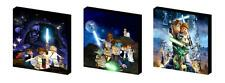 LEGO STAR WARS set C CANVAS ART BLOCKS/ WALL ART PLAQUES/PICTURES