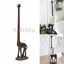 Standing Metal Giraffe Toilet Paper Tissue Dispenser Storage Holder Stand UK