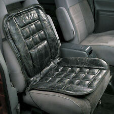 LEATHER CAR TAXI ORTHOPAEDIC BACK SUPPORT CHAIR MASSAGE FRONT SEAT CUSHION COVER