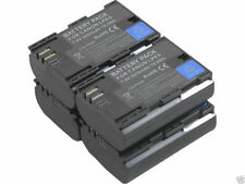 new 4X LP-E6 LPE6 Battery with Dual Charger for Canon 5D 6D 7D 7DSV 60D 60Da 70D