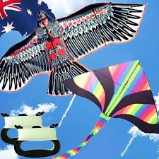 2 Kites Pack Eagle + Rainbow Delta Kite Line Included OKITE2216+2501&OKLIN2100x2