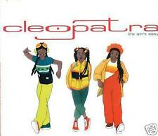 CLEOPATRA LIFE AIN´T EASY CD SINGLE PROMO D1569