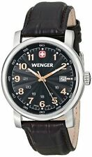 Wenger Swiss Mens Watch 1041.104 Urban Classic Leather Band WR 100M EXPRESS POST