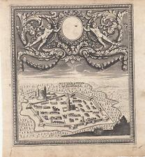 Weissenstein Livland Estland Lettland Baltikum Orig Kupferstich 1720 Stridbeck