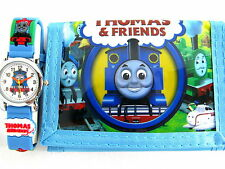 Thomas the tank engine james Children's Watch & Money wallet free shipping sky