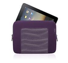 """Belkin iPad Air, 4, 3, 2, 1 Purple Neoprene Grip Sleeve Case Cover Pouch 9.7"""""""