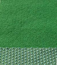 Kunstrasen Rasenteppich mit Noppen samtweich 400 x 150 cm Farbe grün