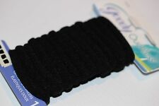 Goody Ouchless Hair Bands, 14 x Black Elastic Ponytail Bands **BNWT**