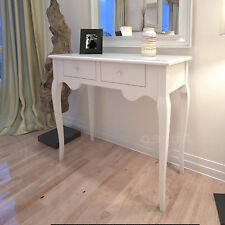 French Shabby Chic Console Vintage Bedroom Cabinet Retro Hallway Table White New