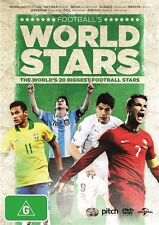 World Stars Football's DVD Region 4 (VG Condition)    football soccer