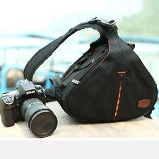 Universal Sling Shoulder Camera Case DSLR Lens Waterproof Travel Carry Bag AU