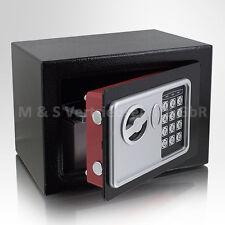 Mini Tresor Zahlenschloss elektronisch Minisafe Wandtresor Wandsafe schwarz Safe