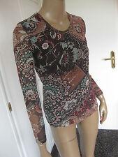 Olsen sehr schönes Shirt 36/38  Blumenmuster