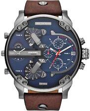 Diesel DZ7314 Mr Daddy 2.0 Herrenuhr XL Chronograph Braun Leder Armbanduhr