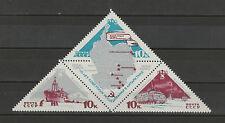 Sowjetunion Mchel-Nr. 3181-3183 als Zusammendruck/Viererblock, postfrisch