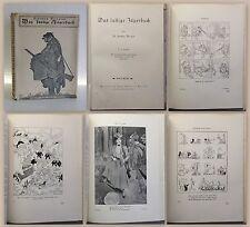 Berger Das lustige Jägerbuch um 1930 mit humoristischen Zeichnungen Satire xz