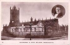 Manchester, Cathedral und Dean Weldon, 1916 verschickt