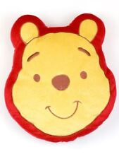 WINNIE THE POOH SHAPED PLUSH CUSHION KIDS BEDROOM NEW OFFICIAL FREE P+P