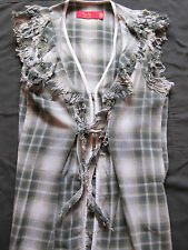 TIGERLILY GREEN & GREY  LONG TOP OR DRESS SIZE 8
