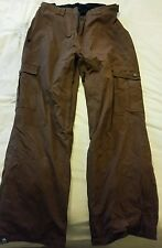 Animal Technical Men's Ski Trousers - Size M - Chestnut Brown