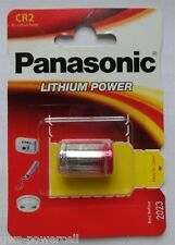 20 x Panasonic CR2 CRCR2-2A DL2A Lithium Photo 3 Volt Blister Neu & OVP