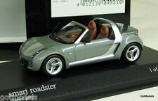 MINICHAMPS 1/43 - 400 032131 SMART ROADSTER 2003 GREY METALLIC DIECAST CAR