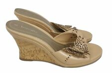 BARRATTS Wedges Size 5 Beige Butterfly Shoes Sandals Casual