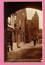 Vintage Postcard. Rochester Cathedral from North Gate, Kent.