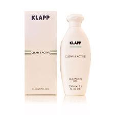 Klapp Clean&Active Cleansing Gel 2x250ml (100ml/5,38 €) Gesichtswasser,Mischhaut