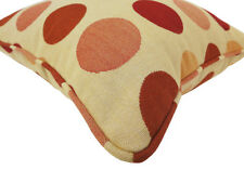 Outdoor Sunbrella Fabric Scatter Cushion Cover Throw Indoor - Red Dot