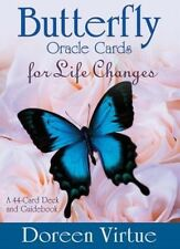 Butterfly Oracle Cards for Life Changes by Doreen Virtue (English)