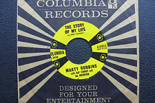 """7"""" Marty Robbins - The Story Of My Life - US Columbia"""