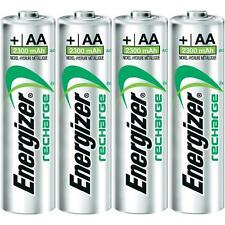 Energizer AA Rechargeable Batteries 4 Pack 1.2V 2300mAh Pre-Charged NiMH No1