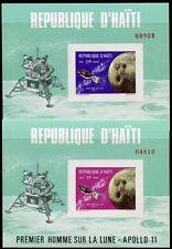 HAITI 1969 Raumfahrt Space Weltraum Block 41-42 ** MNH