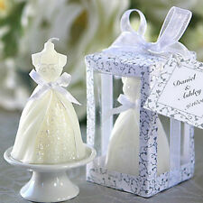 Beauty Bridal Bride Shape Candle Wedding Party Favor Bridal Shower Boxed Gift BD