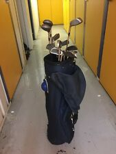 FULL SET OF Golf Clubs Precision Irons 3/SW 1/3/5 Woods Putter-bag-tees-balls